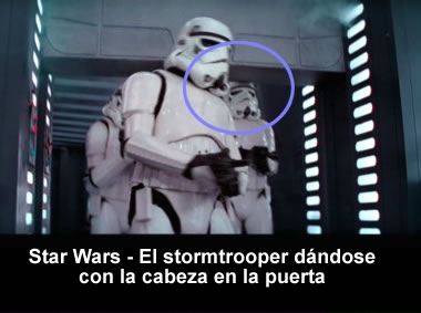 errores en la pelicula star wars