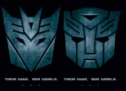 poster de la pelicula transformers