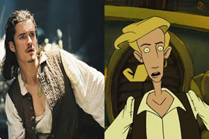 parecidos will turner y guybrush