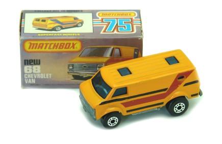 camioneta van matchbox