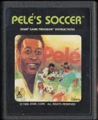 cartucho juego atari de pele´s soccer