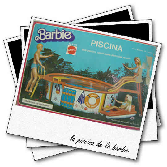 la piscina de la barbie