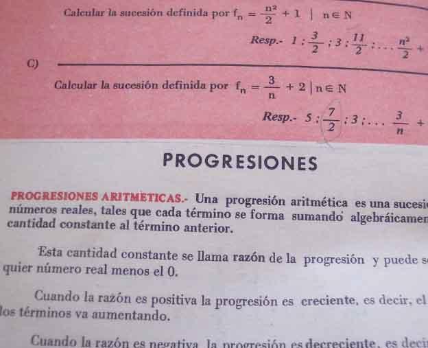 libro de matemáticas de Navarro