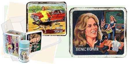 lonchera de la mujer bionica