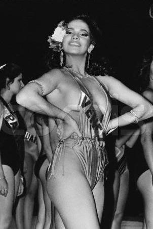 tatiana capote en el Miss Venezuela