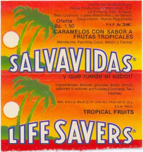 caramelo salvavidas tropical