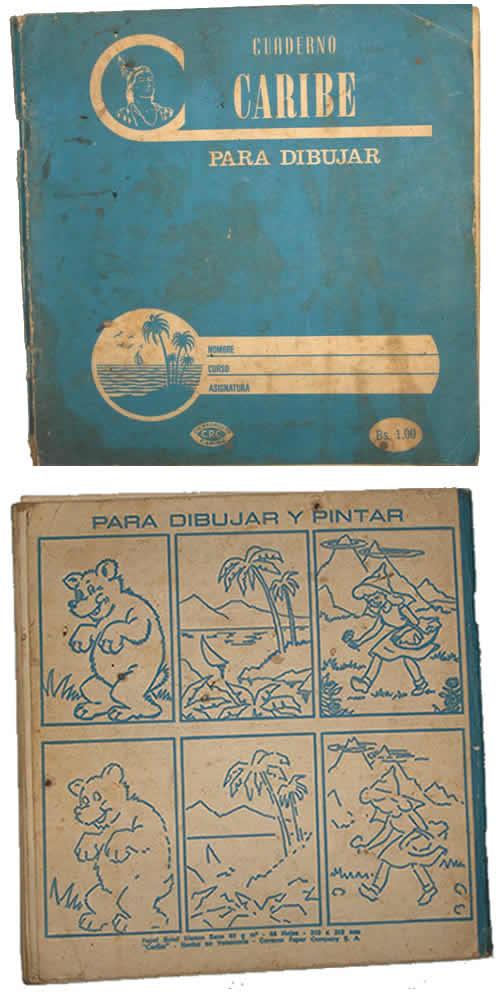 cuaderno caribe para dibujar