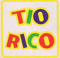 tio rico logo ochentas