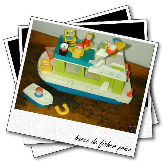 barco de juguete de fisher price