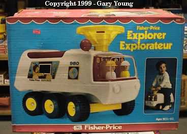 ATV explorer fisher price