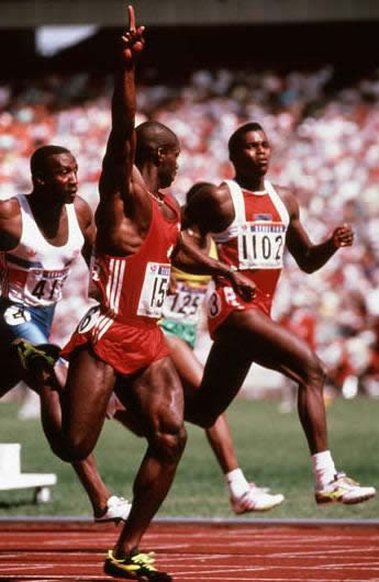 ben johnson en seul 88