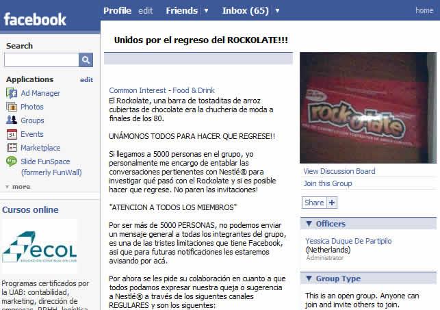 facebook rockolate