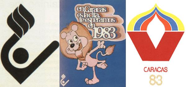 logos y mascotas panamericanos 83