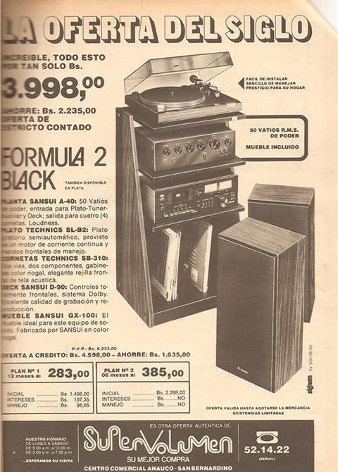 super volumen equipo de sonido