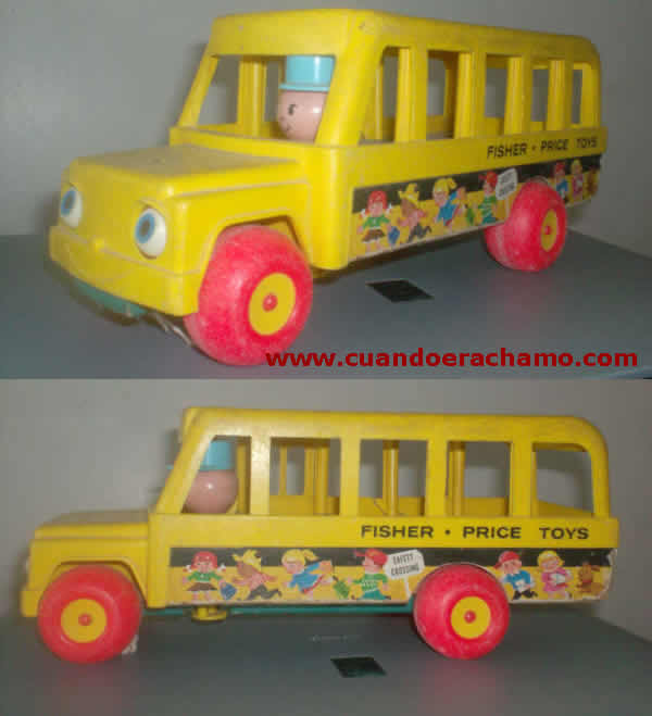 autobus fisher price
