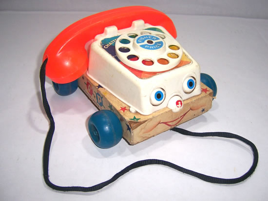 telefono chatter fisher price