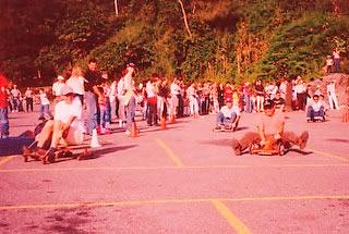 carrera de carruchas