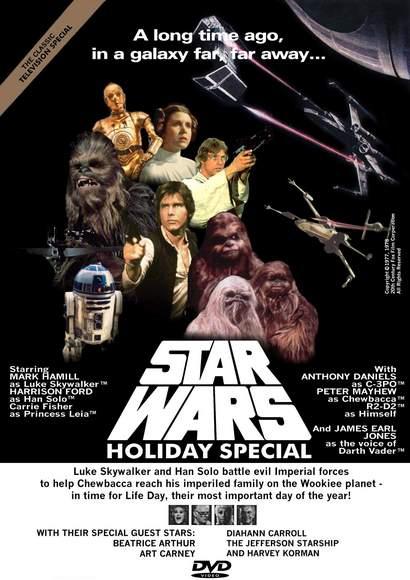 especial de navidad de starwars