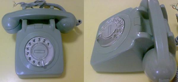 telefóno de disco antiguo de cantv
