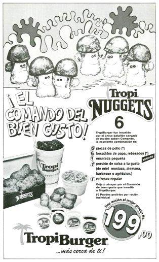 tropi burger promocion