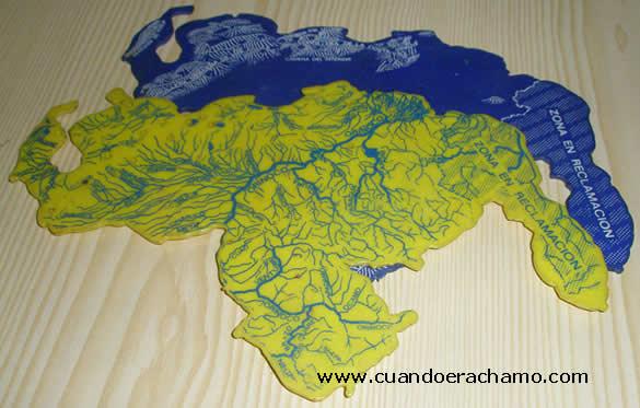 croquis mapa venezuela ochentas 2