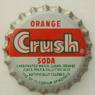 chapa refresco orange crush 3