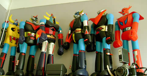 shogun warriors robots