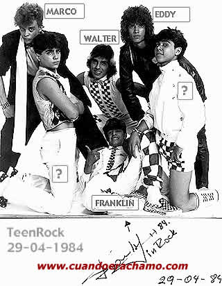 Teen Rock año 1984