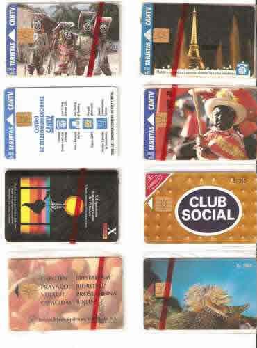 tarjetas cantv de los noventas