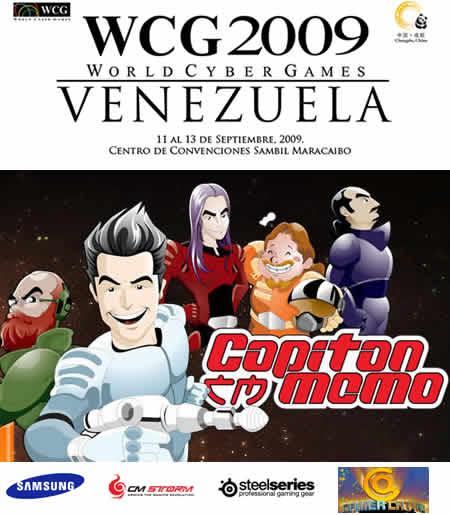 capitan memo en los cyber games Venezuela