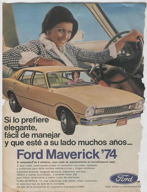 ford maverick del 74