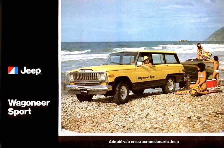 jeep wagoneer de los ochentas y noventas