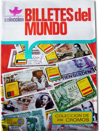 album billetes del mundo