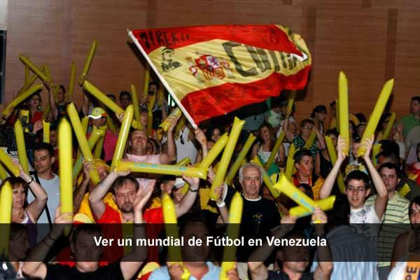 ver mundial de fútbol en venezuela