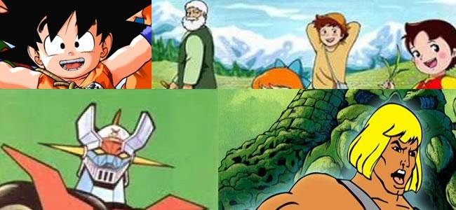 Dibujos animados de los de antes