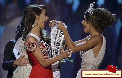 País que ha ganado de forma consecutiva el Miss Universo