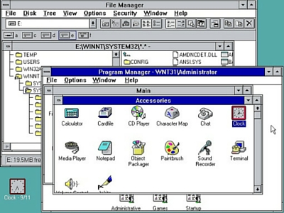 Windows 3.1 aplicaciones