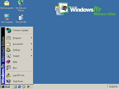 Windows ME escritorio