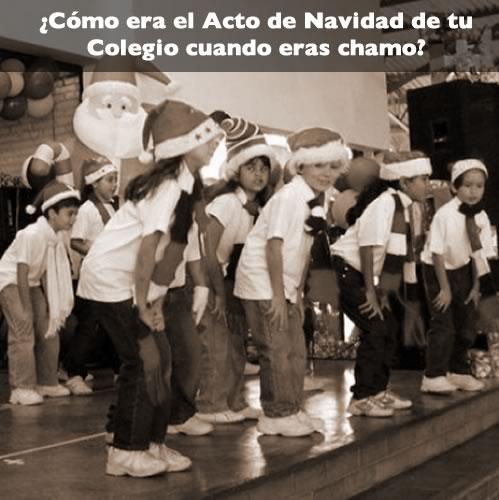 Acto Navidad Colegio Cuando era Chamo