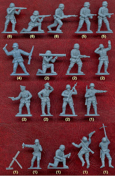 alemanes soldaditos