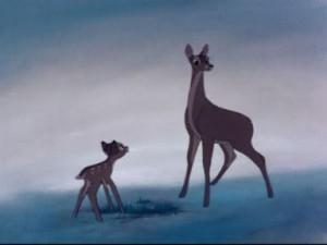 Muerte de la madre de Bambi