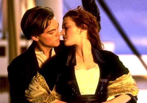 beso pelicula titanic