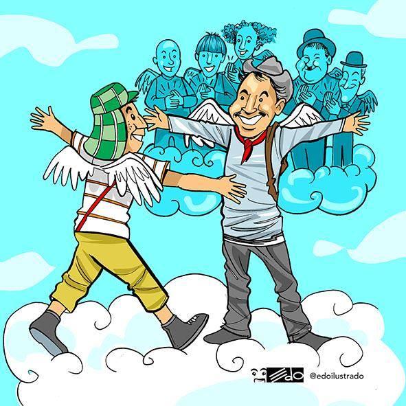 chespirito el chavo con cantinflas