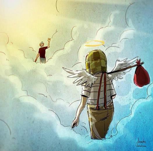 chespirito el chavo don ramon en el cielo