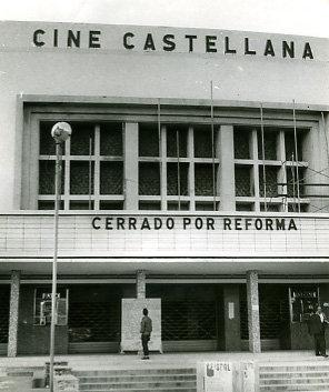 Cine La Castellana años setentas
