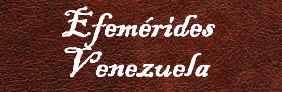 efemérides venezuela enero