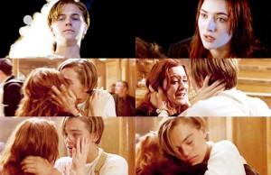 Escenas cine románticas Titanic