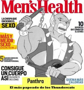 Panthro en Menshealth