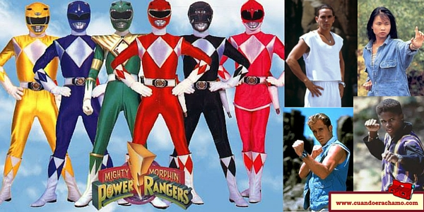 portada Los Power Rangers