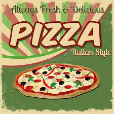 publicidad pizza antigua